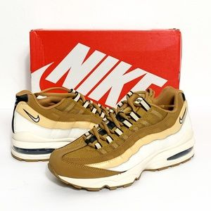 New Nike Air Max '95 (GS) in Wheat/White Celestial